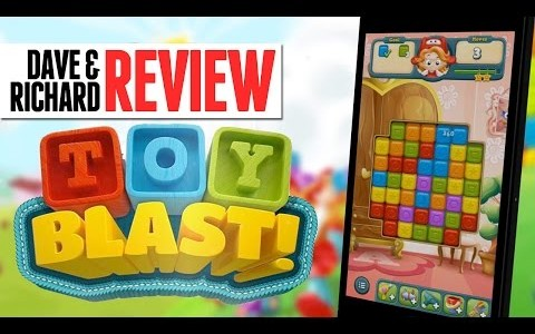 """In this episode, Dave and Richard review the addicting app """"Toy Blast."""" In this game of clearing blocks and collecting toys you'll find yourself not being able to put down […]"""