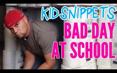 New Kid Snippets videos every MONDAY. If movies were written by our children… We asked some kids to talk about their first day back at school. This is what they […]