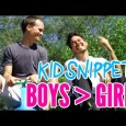 Are boys better than girls? These boys seem to think so.